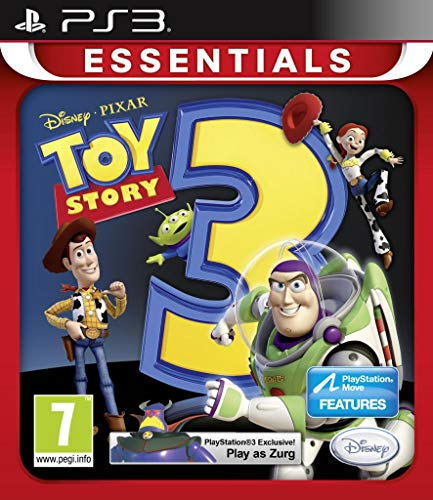 NEW & SEALED! Toy Story 3 The Video Game Essentials Sony Playstation PS3 Game UK