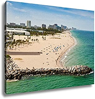 Ashley Canvas, Ft Lauderdale Beach, 24x30