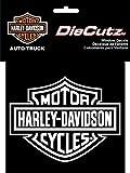 chroma graphics harley davidson - Chroma Graphics Harley Davidson Die Cutz - White Decal