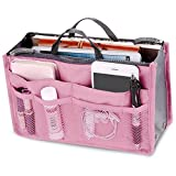 New _ Soul Damen Reise Einsatz Handtasche Organizer Tidy Bag Geldbörse Liner Kosmetik 13Pocket...