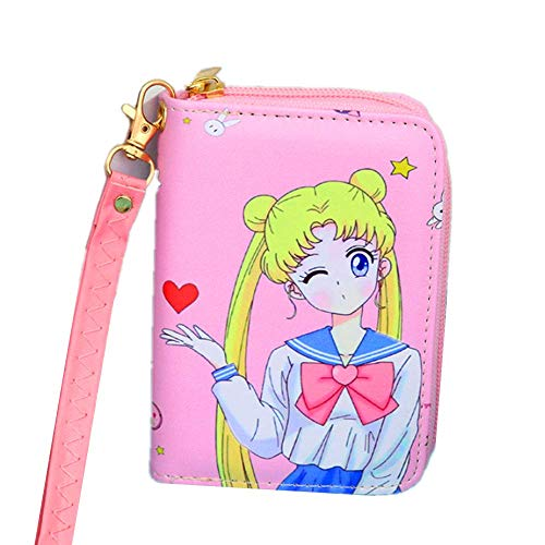 Kerr's Choice Key Chain Sailor Moon Coin Purse Key Bag Sailor Moon Wallet Small Sailor Moon Items