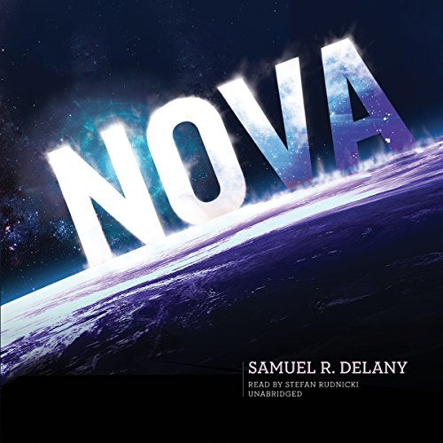 Nova audiobook cover art