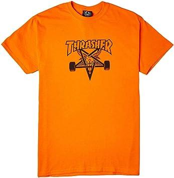 Revista Thrasher Skate cabra seguridad naranja/negro camiseta ...