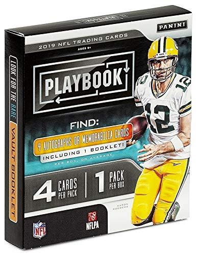 Panini 2019 Playbook Football Hobby Box NFL