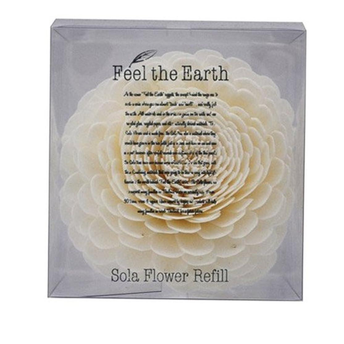 引き算くるくる喜びFEEL THE EARTH ソラフラワー リフィル ダリア DAHLIA フィール ジ アース