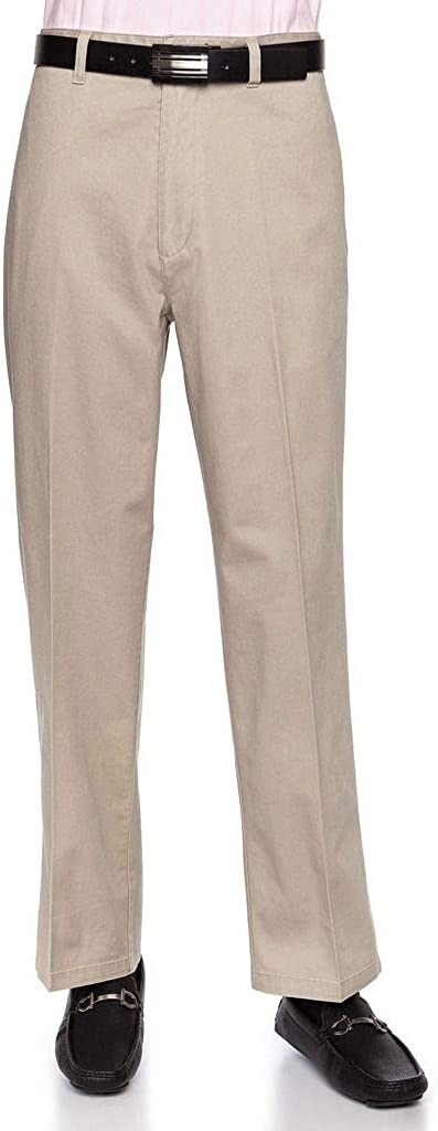 AKA Men's Wrinkle Max Dealing full price reduction 54% OFF Free Cotton Twill Chi - Traditional Fit Slacks