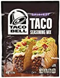 chicken taco mix - Taco Bell Taco Seasoning Mix 1oz (6 Packets)