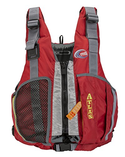 Save %11 Now! MTI Adventurewear Atlas High Buoyancy PFD Life Jacket, X-Large/Xx-Large, Red