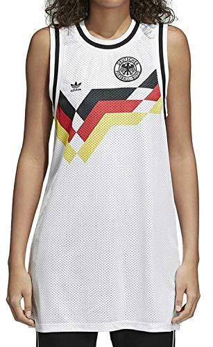 adidas damska sukienka na ramiączkach, kolor biały biały 38