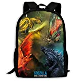 Godzilla Backpack King Of The Monsters Traveling Backpack Lightweight Bags For Men Women -5