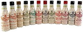 Fee Brothers Bar Cocktail Bitters Complete Set - 12 Bottles