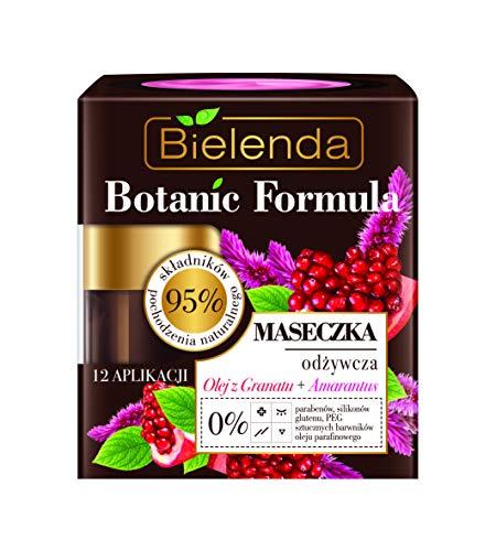 Bielenda Fórmula botánica nutritiva máscara facial aceite de granada y amaranto 50...