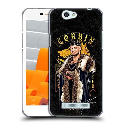 Head Case Designs Oficial WWE EOD Image Barón Corbin Carcasa de Gel de Silicona Compatible con Wileyfox Spark/Plus