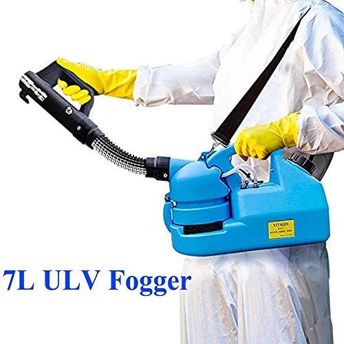LLP LM 7L Elektrische ULV Sprayer, Hand Schädlingsbekämpfung Sprayers Fogger 6-8 Meter, Mist Größe einstellbar für Gartenartikel,a