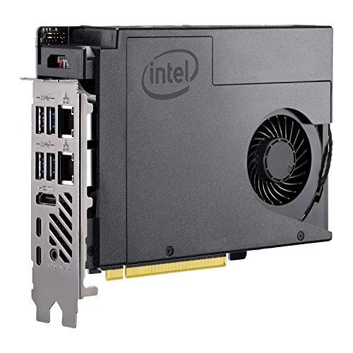 Intel NUC 9 Pro, NUC9V7QNB, i7-9850H, DDR4, M.2 PCIe/SATA, Intel UHD Graphics, USB 3.1 Gen2, Thunderbolt 3, Barebone