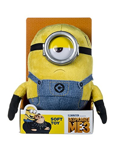 DESPICABLE ME- Minion Cattivissimo Me 9070BPP Mel con Suono Peluche, Colore Yellow, Medium with Sound, 1
