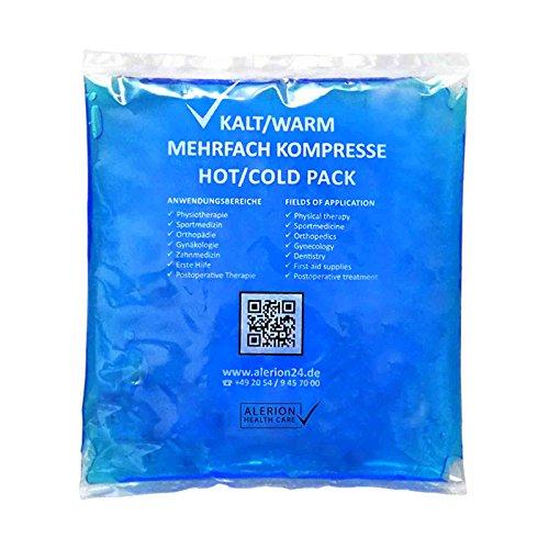 10 Stück 13 cm x 14 cm Kalt-Warm Kompresse Mehrfach kompresse Wiederverwendbar Coolpack Mikrowellen geeignet verschiedene Größen verfügbar