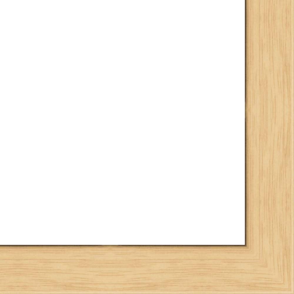 Max 72% OFF 26x34 - 26 x Regular dealer 34 Natural Oak Wood UV Flat Framer with Solid Frame