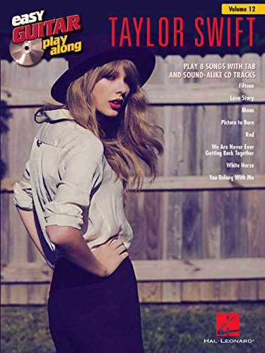Hal Leonard Taylor Swift - Easy Guitar Play-Along Volume 12 Book/CD