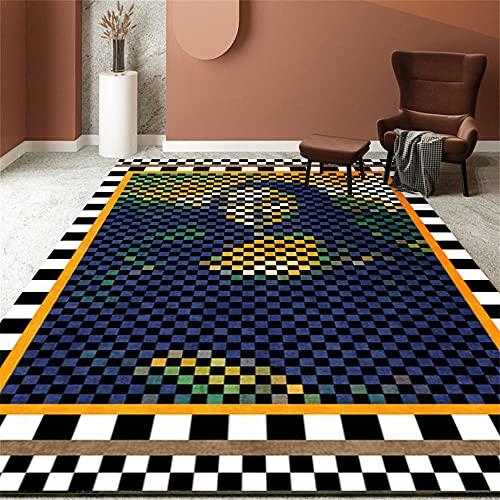 Tapis IKEA Tapis Extérieur Gazon Créatif Coloré Tapis rectangulaire Style Unique Salon Décoration Machine lavableTapis Ado Garcon 140x200cm