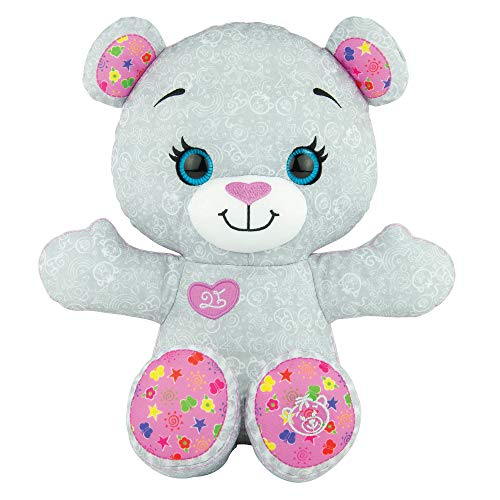 doodle Bear The Original - Limited Edition 14ʺ Plush Toy with 3 Washable Markers - Gray