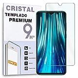Protector de Pantalla para XIAOMI REDMI 8, Cristal Vidrio Templado Premium