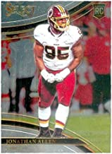 Jonathan Allen football card rookie (Washington Redskins) 2017 Select Chrome #278