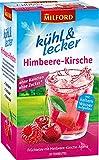 Milford kühl & lecker Himbeere-Kirsch   ohne Kalorien   ohne Zucker   laktosefrei   glutenfrei   vegan   20 Teebeutel   50 g