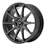 Motegi Racing MR127 Satin Black Wheel (18x8'/5x114.3mm, +38mm offset)
