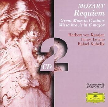 Mozart: Requiem; Great Mass in C minor; Missa brevis in C major
