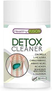 Detox drenante y depurativo | Elimina toxinas del organismo | Cardo mariano + rábano negro + alcachofa | Estimula la funci...
