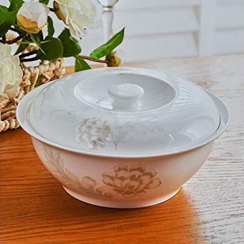 YINUO Jingdezhen - Zuppa in porcellana Bone China, 22,9 cm