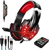 Voice Changer Gaming Headset with Mic for Xbox...