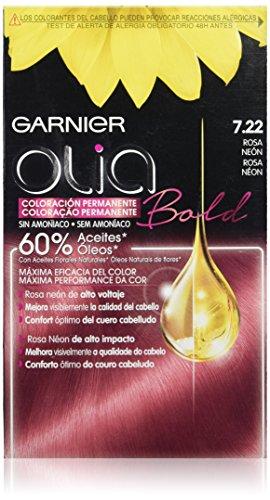 Olia Bold Coloración Permanente Tono 7.22 Rosa Neón - 287 gr