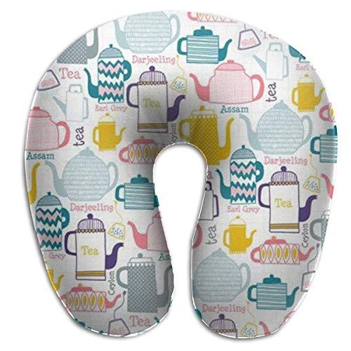 Cuscino collo a bollitore, l\'originale cuscino da viaggio a forma di U, per comfort e praticità nei viaggi - Mezzanotte