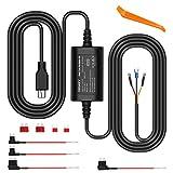 ORSKEY Dash Cam Hardwire Kit Mini USB 12V 24V to 5V Car Dash
