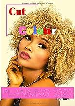 Cut&Colour© Planning 2020 coiffure: Agenda professionnel   vue mensuelle à chaque page pour prise de RV fluide   amplitude 8h00-20h30-15mn   Création ... par et pour des pros   format A4-266 pages
