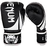 Venum Challenger 2.0 Kids Boxing Gloves - 4oz, Black/White, 4 oz
