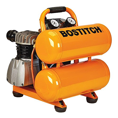 BOSTITCH CAP2041ST-OL 4 gallon 135 PSI Oil-Lubricated Stack Tank Compressor