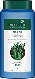 Biotique Bio Kelp Protein Shampoo for Falling Hair Intensive Hair Regrowth Treatment, 340ml