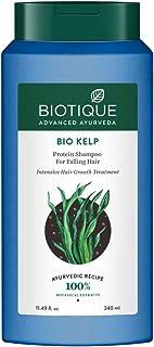 Biotique Bio Kelp Protein Shampoo For Falling Hair Intensive Hair Regrowth Treatment, 340 ml