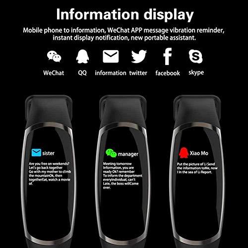 Smartwatch Fitness Tracker con monitor de sueño de frecuencia cardíaca 0,96 pulgadas IPS pantalla a color A-A