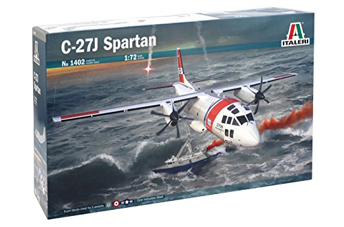 Italeri 1402 - C-27j Spartan Model Kit Scala 1:72