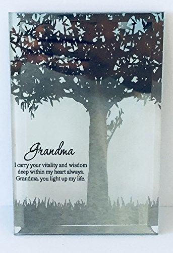 Momentum Brands Mother's Day Glass Plaque (Grandma)