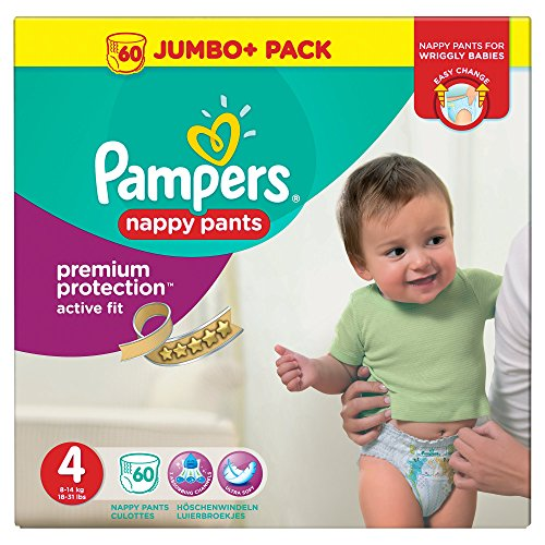 Pampers Active Fit Windelhose Größe 4 60 Windelhose 9-15 kg