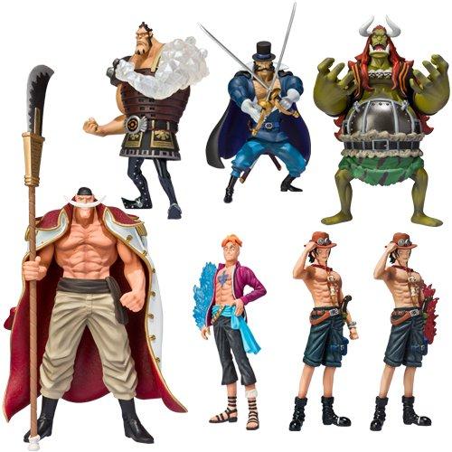 One Piece - Soul of Hyper White Beard Pirates * Edward Newgate+Marco+Portgas D. Ace (A)+Portgas D. Ace (B)+Jozu+Vista+Little Oars Jr