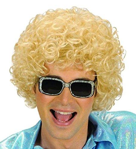 Mondial-Fete - Perruque bouclée Blonde