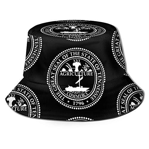 Tennessee Seal Bucket Hat Unisex Sonnenhut Gedruckter Fisherman Packable Travel Hat Fashion Outdoor-Hut