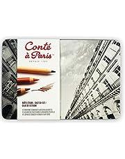 مجموعة The Sketch من Conté à Paris مع أقلام رسم متنوعة