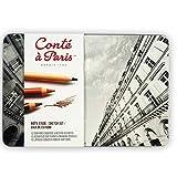 Conté à Paris Sketch Set, Paquete de 12 Lápices, Multicolor